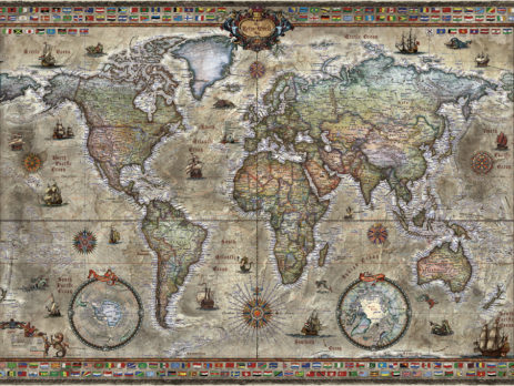 Map & Flag Puzzles