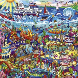 Buy HEYE Magic Sea (1000 Piece Jigsaw Puzzle) and other great jigsaw puzzles only at Jigsaw Nation