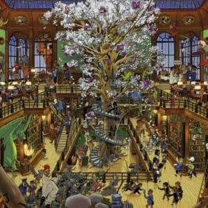 Buy HEYE Library (1500 Piece Jigsaw Puzzle) and other great jigsaw puzzles only at Jigsaw Nation