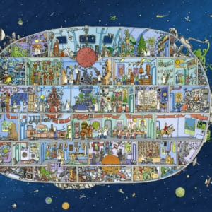 Buy HEYE Spaceship (1500 Piece Jigsaw Puzzle) and other great jigsaw puzzles only at Jigsaw Nation