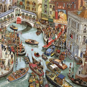 Buy HEYE O Sole Mio! (2000 Piece Jigsaw Puzzle) and other great jigsaw puzzles only at Jigsaw Nation