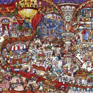 Buy HEYE Patisserie (1500 Piece Jigsaw Puzzle) and other great jigsaw puzzles only at Jigsaw Nation