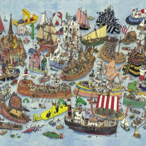 Buy HEYE Regatta (1500 Piece Jigsaw Puzzle) and other great jigsaw puzzles only at Jigsaw Nation
