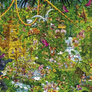 Buy HEYE Deep Jungle (2000 Piece Jigsaw Puzzle) and other great jigsaw puzzles only at Jigsaw Nation