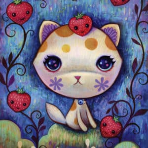 Buy HEYE Strawberry Kitty (1000 Piece Jigsaw Puzzle) and other great jigsaw puzzles only at Jigsaw Nation