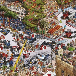 Buy HEYE Monaco Classics (1500 Piece Jigsaw Puzzle) and other great jigsaw puzzles only at Jigsaw Nation