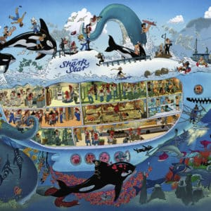 Buy HEYE Submarine Fun (1500 Piece Jigsaw Puzzle) and other great jigsaw puzzles only at Jigsaw Nation