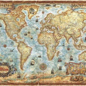 Buy HEYE The World (2000 Piece Jigsaw Puzzle) and other great jigsaw puzzles only at Jigsaw Nation