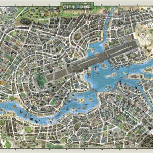 Buy HEYE City of Pop (2000 Piece Jigsaw Puzzle) and other great jigsaw puzzles only at Jigsaw Nation