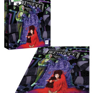 "Buy Beetlejuice ""Graveyard Wedding"" and other great jigsaw puzzles only at Jigsaw Nation"
