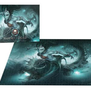 "Buy Court of the Dead® ""Death's Siren"" and other great jigsaw puzzles only at Jigsaw Nation"
