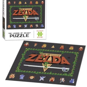 """Buy The Legend of Zelda™ """"Classic"""" and other great jigsaw puzzles only at Jigsaw Nation"""