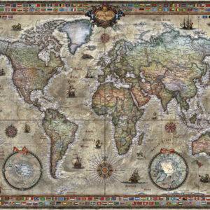 Buy HEYE Retro World (1000 Piece Jigsaw Puzzle) only at Jigsaw Nation.