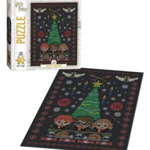 """Buy Harry Potter™ """"Weasley™ Sweaters"""" 550 Piece Puzzle only at Jigsaw Nation."""