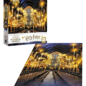 """Buy Harry Potter """"Great Hall"""" 1000 Piece Puzzle only at Jigsaw Nation."""