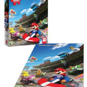 """Buy Super Mario™ """"Mario Kart™"""" 1000 Piece Puzzle only at Jigsaw Nation."""
