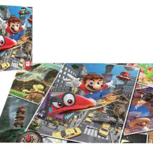 """Buy """"Super Mario™ Odyssey Snapshot"""" 1000 Piece Puzzle only at Jigsaw Nation."""
