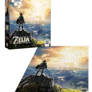 """Buy The Legend of Zelda™ """"Breath of the Wild"""" 1000 Piece Puzzle only at Jigsaw Nation."""